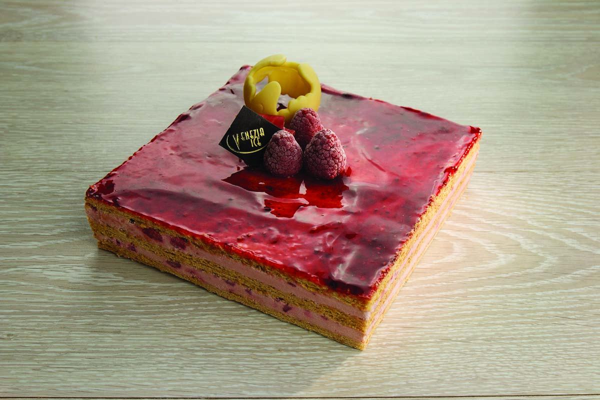 MILLEFEUILLES FRUITS ROUGE 8P