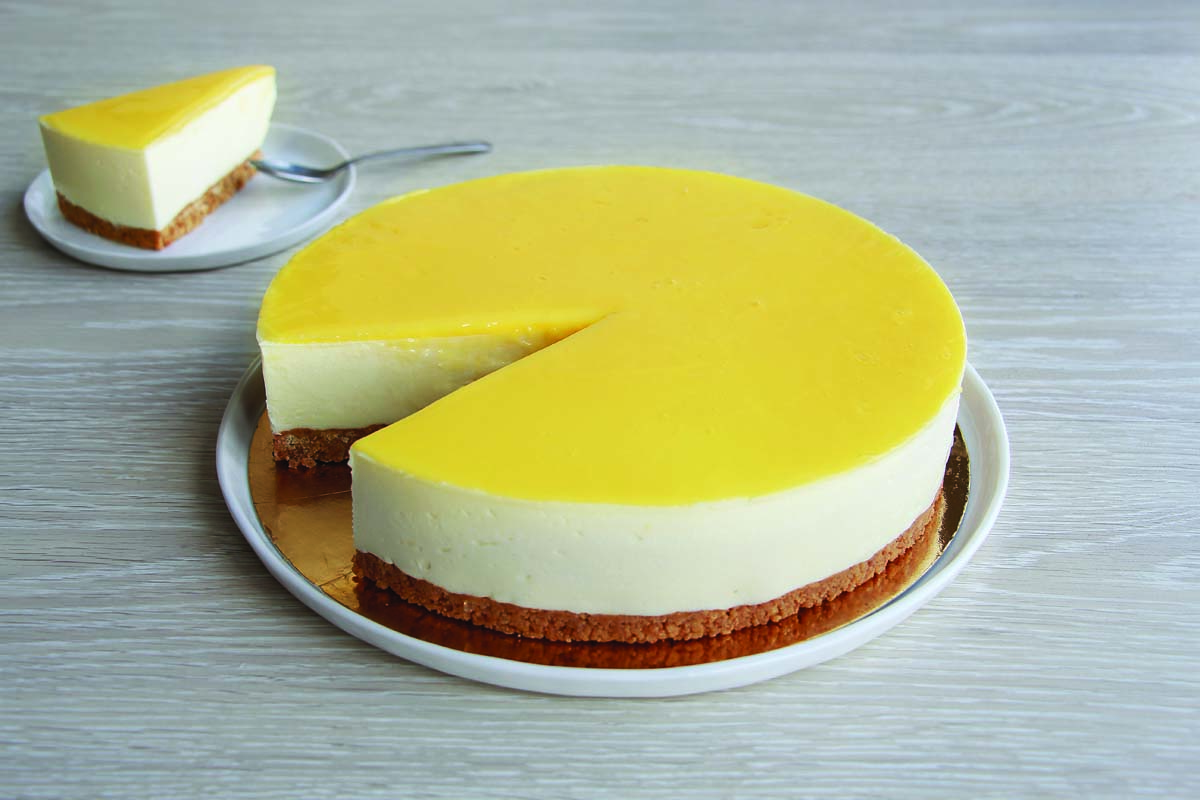 CHEESECAKE GOURMAND CITRON 12 P