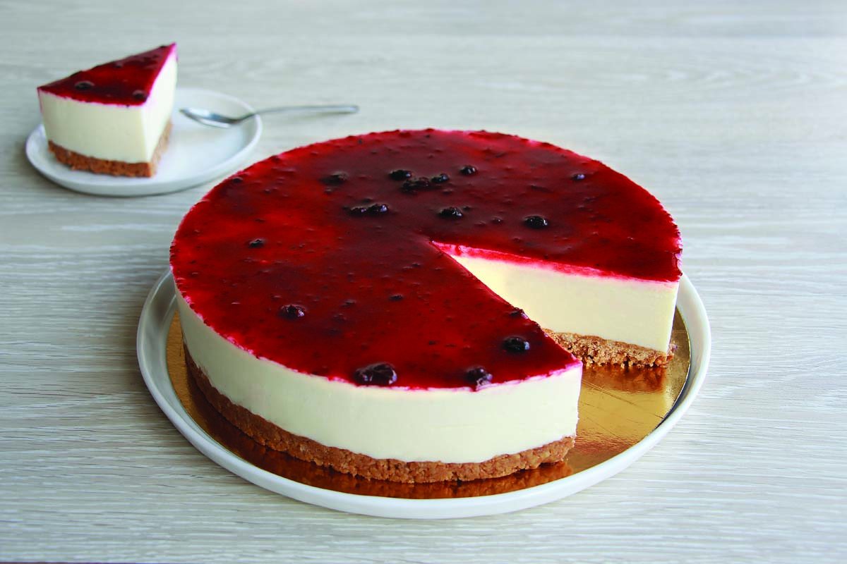 CHEESECAKE GORMAND FRUITS ROUGES 12 P