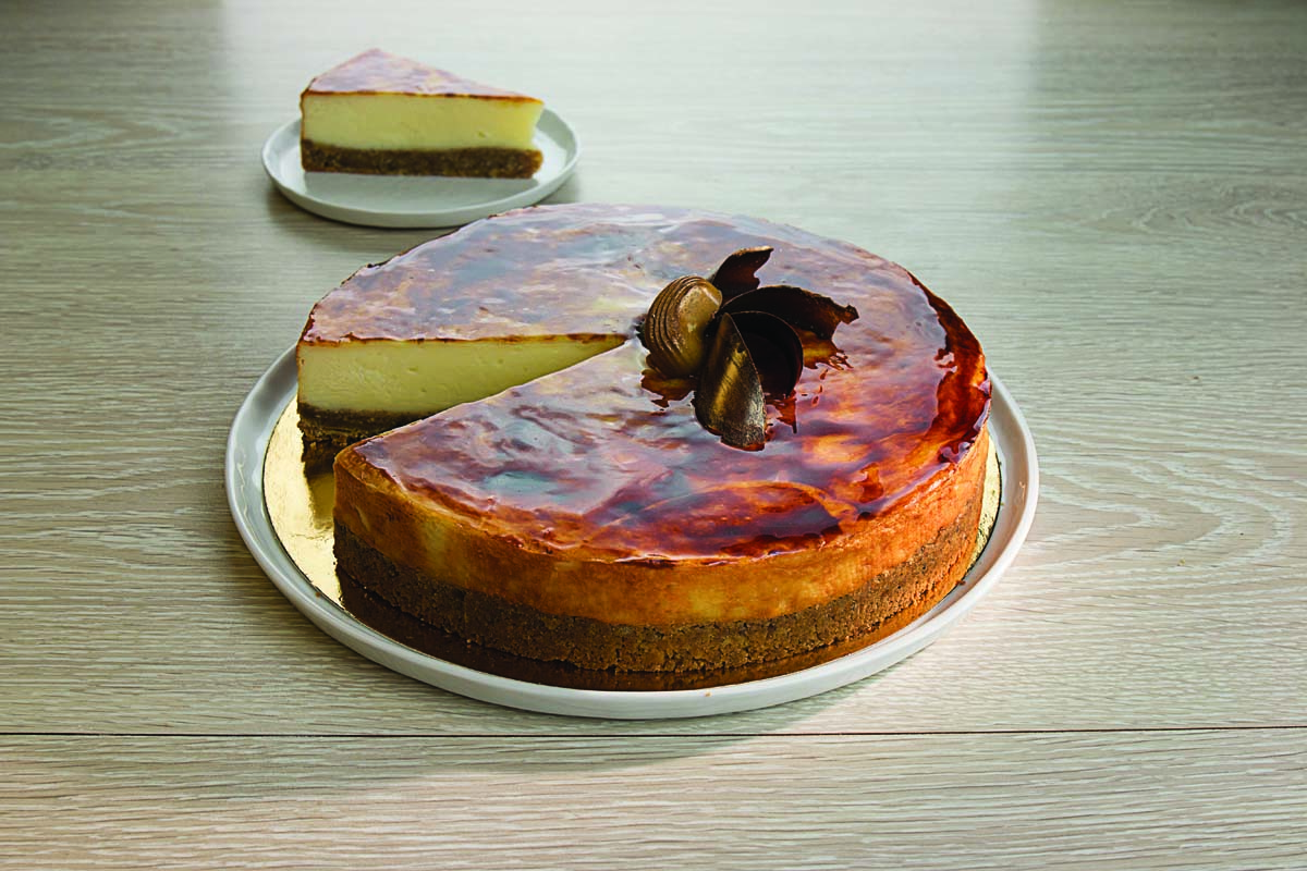 CHEESECAKE GOURMAND CARAMEL 12 P
