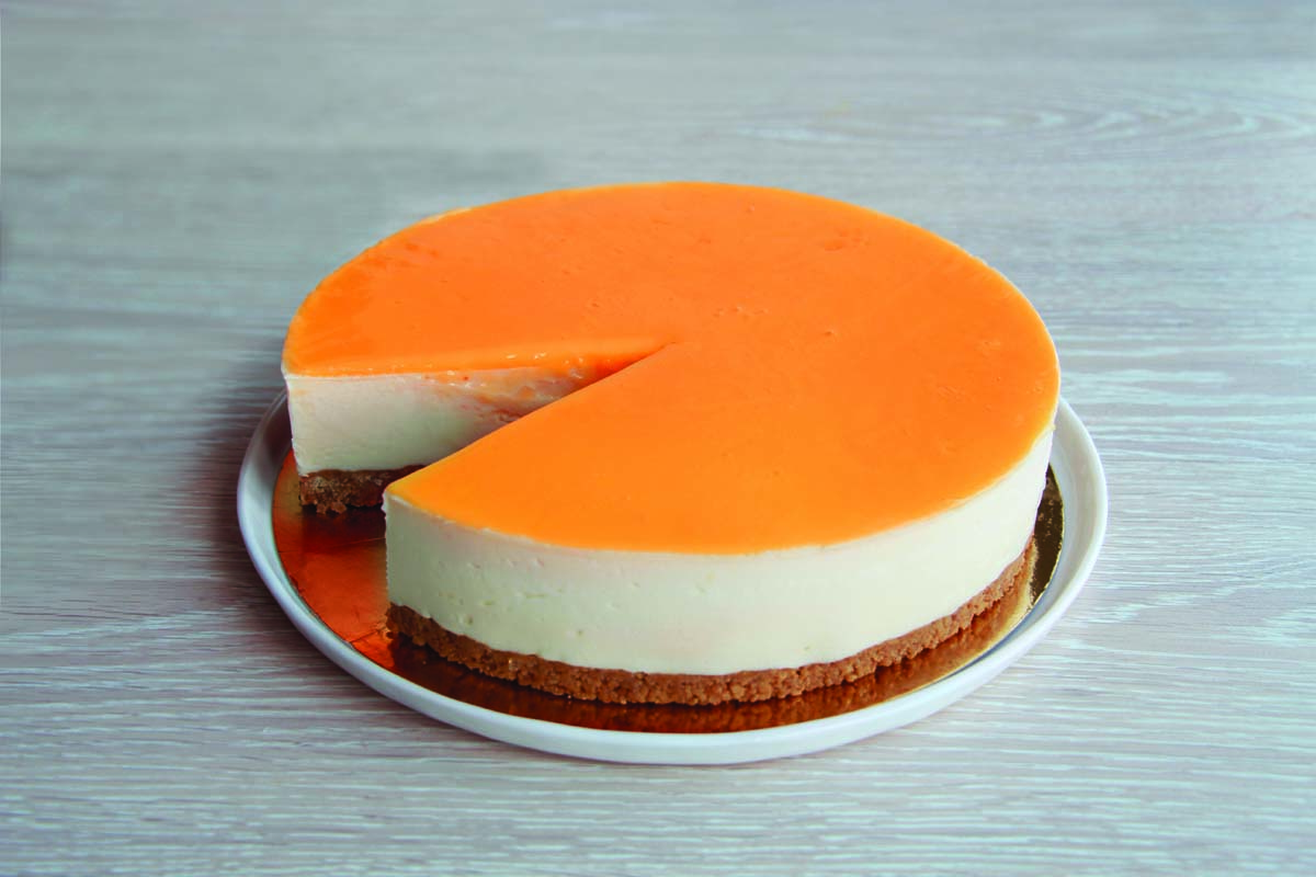 CHEESECAKE GOURMAND ORANGE 12 P